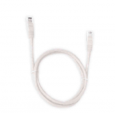 Cabo de Rede Patch Cord Cat5E Pc-Ethu15Wh Rj45 1,5Mts Branco Plus Cable