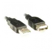 Cabo Extens Usb Macho X Fêmea 1,8Mts Pc-Usb1802 Preto Plus Cable