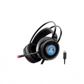 Headset Gamer 7.1 Digital Surround Bope2 Ars6 Preto K-Mex