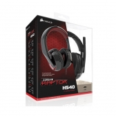 Headset Gamer Usb Raptor Hs40 7.1 Preto Corsair