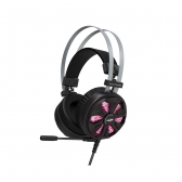 Headset Usb Gamer 7.1 Vulture Ph-G710Bk Preto C3Tech