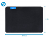 Mouse Pad Gamer Mp3524 Pequeno 350Mm X 240Mm Preto Hp