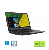 Notebook Acer Es1-572-3562 Intel Core I3 6006U 4Gb 1Tb 15,6 Windows 10 Home Preto