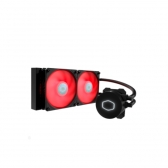 Water Cooler Masterliquid Ml240L V2 24Cm Led Vermelho Cooler Master