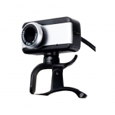 Webcam Usb V4 Preto/prata Brazilpc